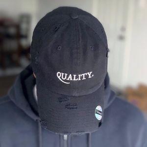 Black Denim Hat